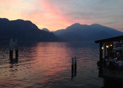 Quand j'habite ou je voyage, je choisis une vue, et parfois un paysage me choisit inéluctablement…