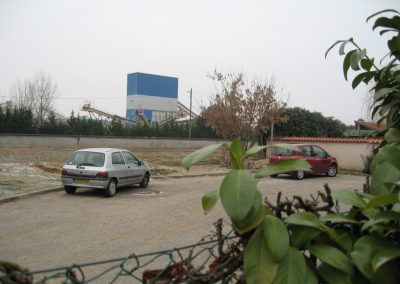 Pollution sonore due à l'extraction de graviers à Jassans-Riottier