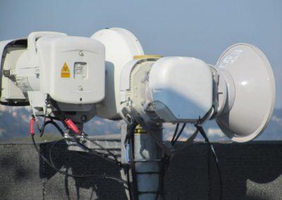Détail du relais d'antennes qui permet à l'immeuble de baisser ses charges de copropriété pour 10 ans d'une somme non «négligée».