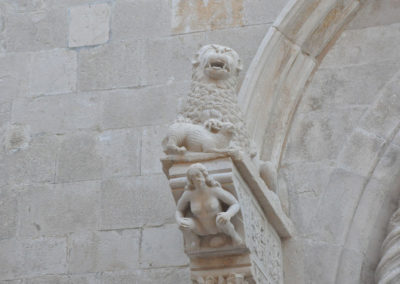 Korcula sculpture