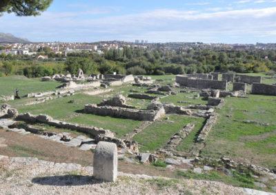 Salona ruines romaines, cité antique fondée par César