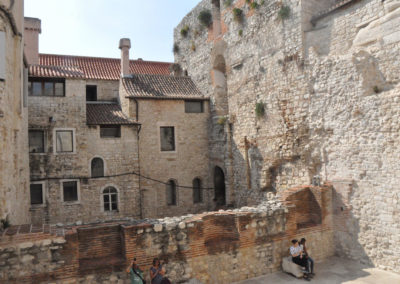 Split, ville de 450 000 habitants